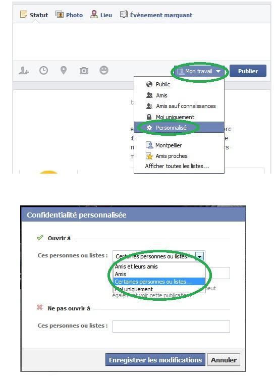 Audience Facebook personnalisée